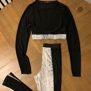 Missguided  Snakeskin Loungewear Set